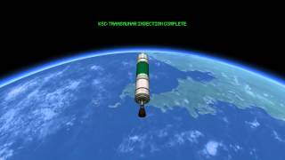 Kerbal Space Program kOS Mun Fly-by/return mission