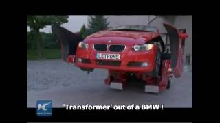 watch a bmw turn into a real life transformer
