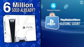 Report: PS5 Sales Reach 6 Million | PS3/Vita/PSP Store Closing? It Could Be WORSE. - [LTPS #458]
