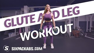 Killer Glute & Leg Workout   20 Minute AMRAP (As Many *Rounds* As Possible)   SixPackAbs.Com