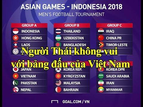 Người Thái bị SỐC trước bảng đấu của U23 Việt Nam