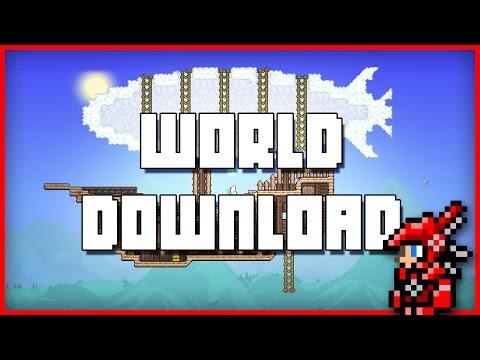 Terraria World Download!
