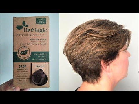 Biomagic Yogun Cikolata Kahve 55 07 Sac Boyama Youtube
