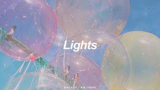 Lights   BTS (防弾少年団) English Lyrics