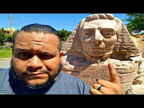 Strange Statues of Salt Lake City Utah