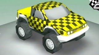 Çizgi Film - Yarış Arabası - Sağ ve Sol öğreniyoruz (Itsy cars)
