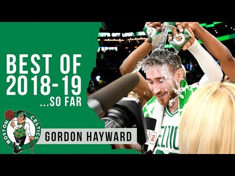 Best Highlights of 2018-19 (so far): Gordon Hayward