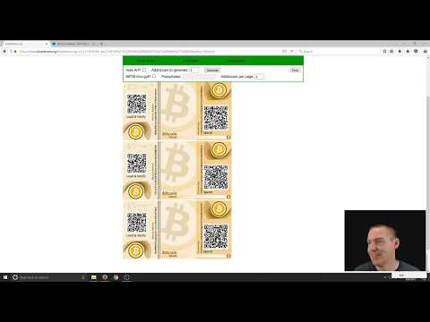 Bitcoin: Create A Paper Wallet Using Bitaddress.org