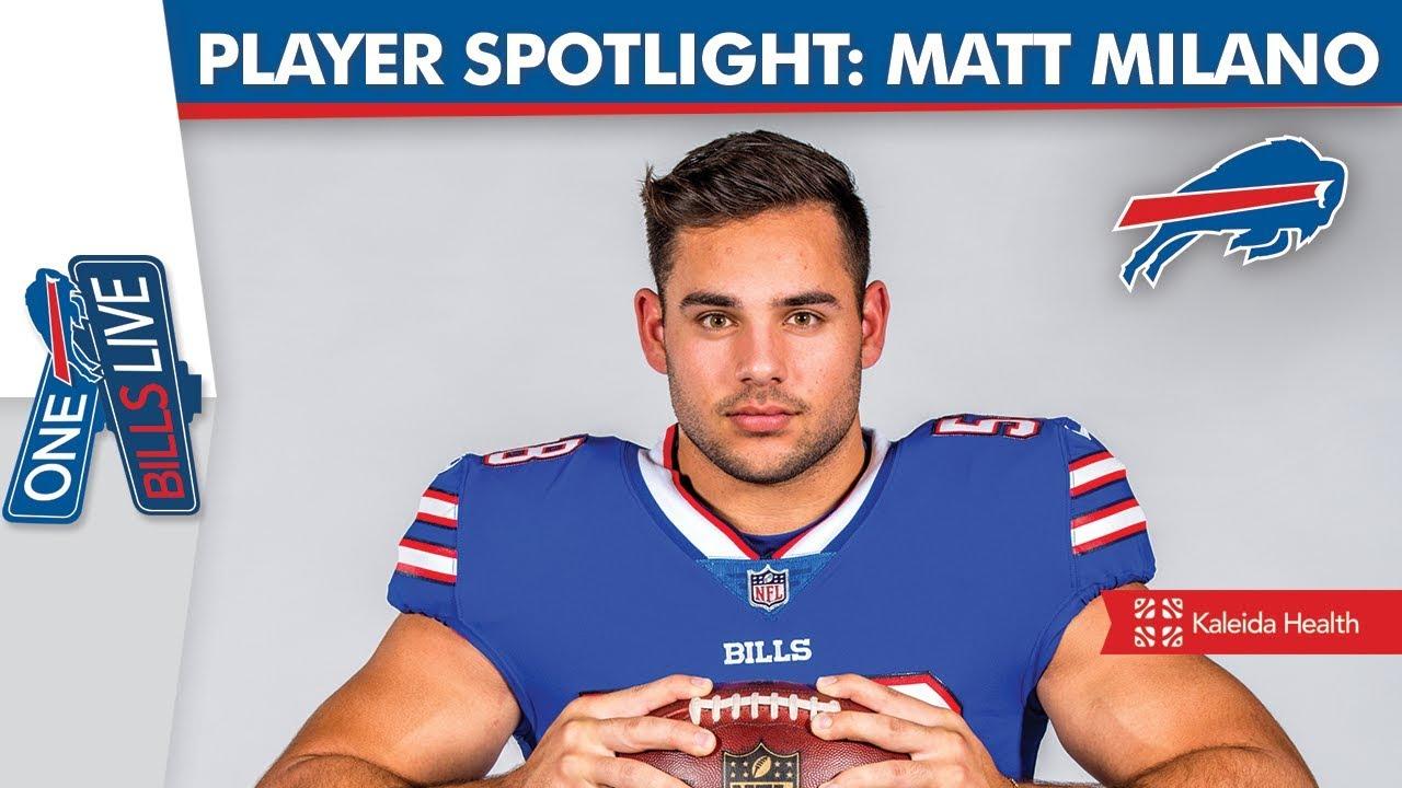 newest a30c6 af821 Buffalo Bills' Matt Milano | One Bills Live Player Spotlight