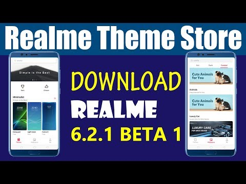 Official Realme Theme store app beta version dowonload | Realme