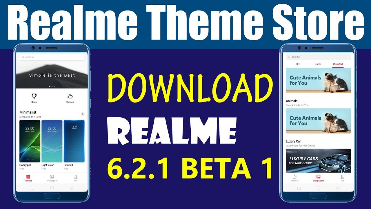 Official Realme Theme store Download Apk Beta Version 6 1 2