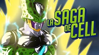 Dragon Ball Z Saga de Cell: La Historia en 1 Video