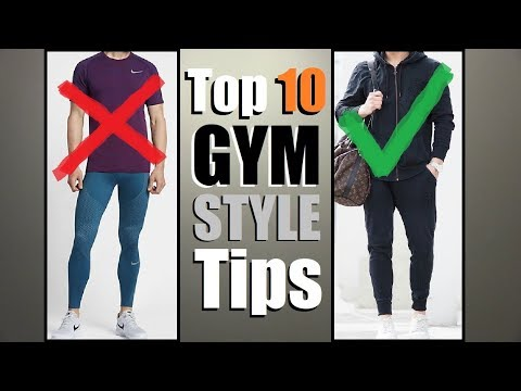 Top 10 Workout Style Tips (Wear THIS To The GYM To Look GREAT)!