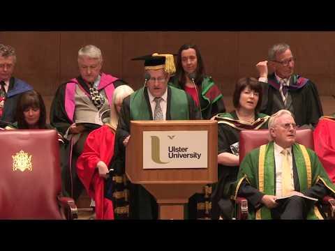 Ulster University Summer 2017 Graduation - afternoon ceremony Belfast/Jordanstown