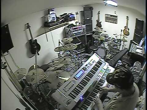 Jazz Fusion Keyboard piano Improv By Lee Bales