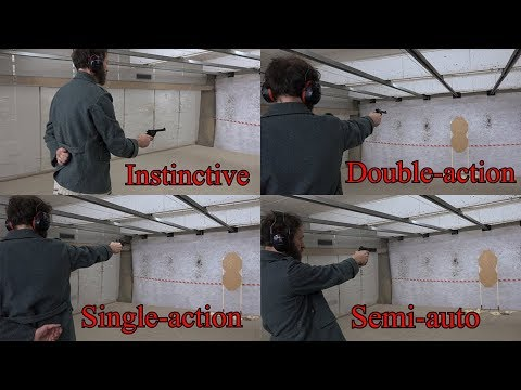 Four ways to shoot your pistol