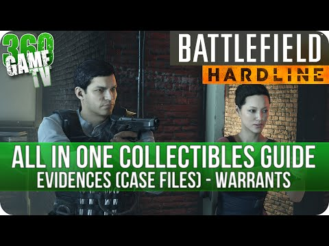 Battlefield Hardline - All in One Collectible Locations Guide (All Evidences and Warrants)