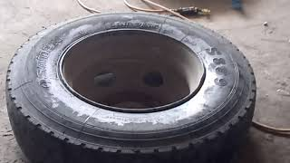 #tire#tirerepair#accidentally  TIRE MAN ACCIDENTALLY GOT INJURED