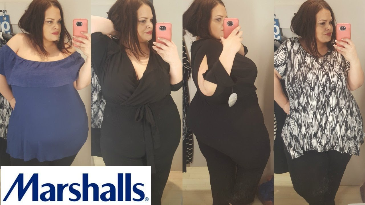 PLUS SIZE | INSIDE THE DRESSING ROOM | MARSHALLS