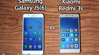 Samsung Galaxy J5 2016 Vs Xiaomi Redmi 3s Speed Test