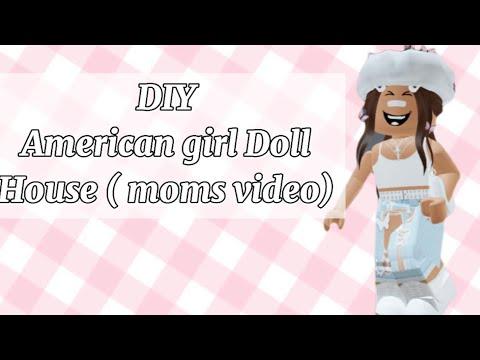 How to make an American Girl dollhouse cheap easy