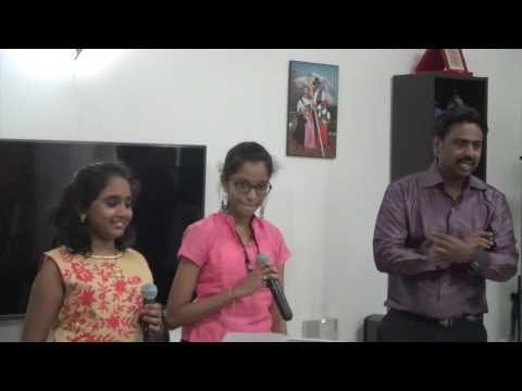 Ore or Ooril Bahubali 2 song cover Samiksha &Aayushmathi