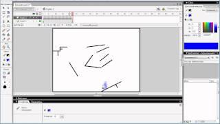 Урок по Macromedia flash 8. Создание стикмена 1 часть(Я расскажу как сделать мульт с участием стикмена., 2012-03-07T19:39:12.000Z)