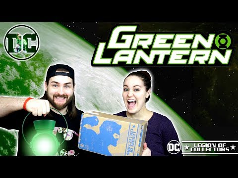 DC Legion of Collectors | Green Lantern Box! The Last box?