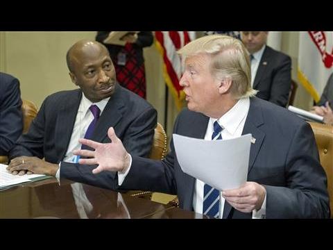 Trump Tells Pharma CEOs: Bring Down Drug Prices