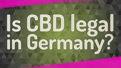 Is CBD legal in Germany? ★ Deeper Meaning