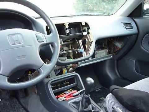 Honda Civic Dashboard Under Construction Youtube
