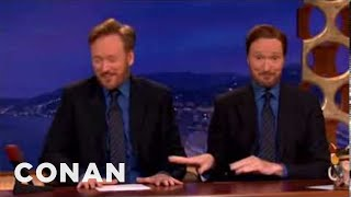 Conan - Acting Out The Oscar Noms: The Social Network 02/23/11