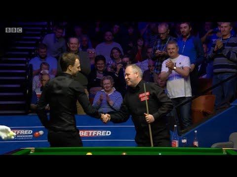 John Higgins v Judd Trump Decider QF World Championship 2018