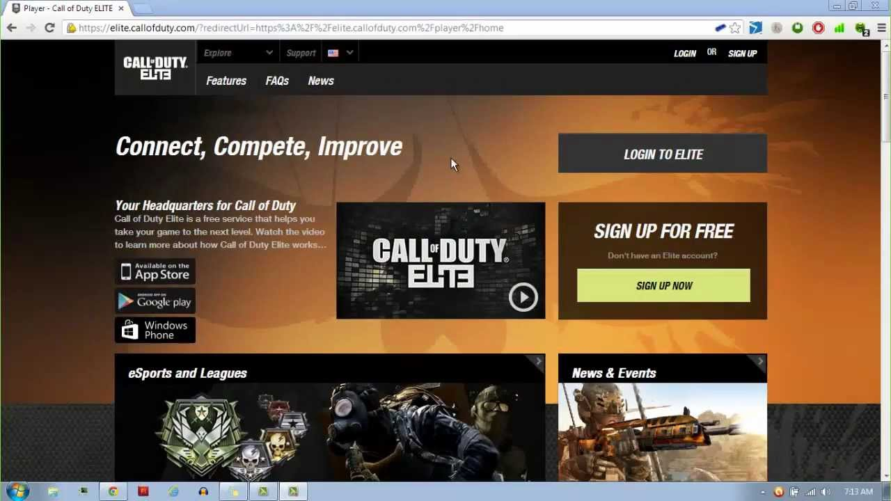MrPicklator's Tutorials:  Link Youtube with Call of Duty Elite