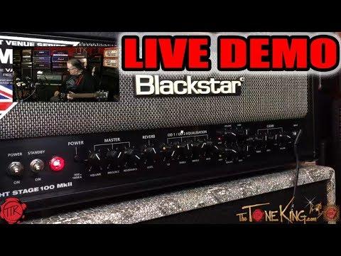 LIVE DEMO - Blackstar HT Stage 100 MkII Tube Amp