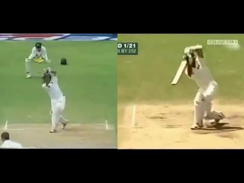 Sachin Tendulkar vs Rahul Dravid Cover drive Challenge.