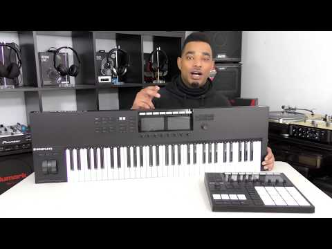 Native Instruments KOMPLETE KONTROL S61 MK2 Keyboard Review Video