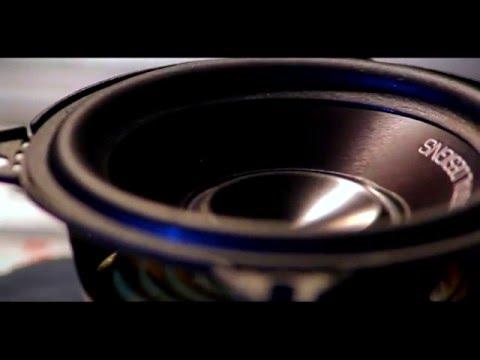 "Digital Designs AW3 German Audiophile 3"" midrange woofers Showoff clip"
