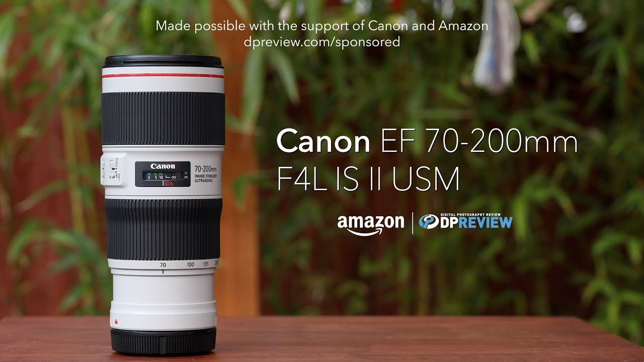 Canon EF 70-200mm F4L II IS USM product overview