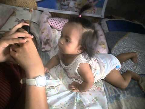Baby Nixie -- Bonding with Tita Cyris...
