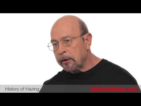 The History Of Hazing - Hank Nuwer, Hazing Expert
