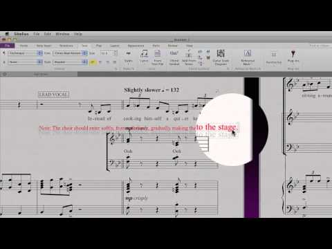 Text styles and typography in Sibelius 7