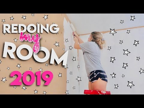 redoing my room for the first time in 8 years | 2019