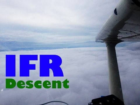 Cessna 172 - IFR Descent into New Orleans Lakefront