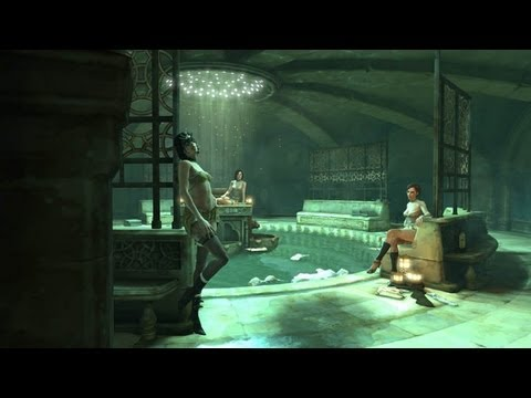 Gaming Wallpaper For Girls Dishonored 1 Hour Strip Club Gameplay Youtube