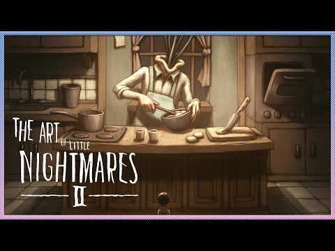 UNRELEASED CONCEPT FOR LITTLE NIGHTMARES 2 FINAL GAME   LITTLE NIGHTMARES 2 ART BOOK REACTION  