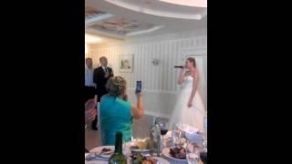 Леночка и Юрчик: свадебная песня!)