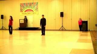 Arizona Dance Classic: Line Dnace: West Coast Swing (2012/8/4)