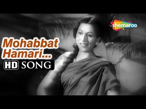 Mohabbat Hamari Jamana Hamara   Dulari (1949) Madhubala   Lata Mangeshkar    Bollywood Classic Song