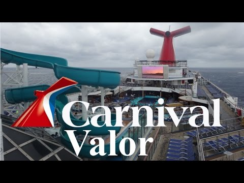 Carnival Valor Tour & Review with The Legend
